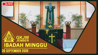 Senantiasa Berjuang untuk Hidup dalam Genggaman Khalik Semesta - Ibadah Minggu, 20 September 2020