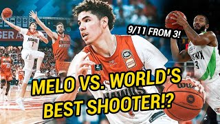 LaMelo Ball Faces Off Against The BEST SHOOTER On Earth!? Shows Off INSANE Passing Package 😱