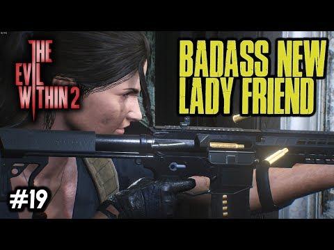 BADASS NEW LADY FRIEND [#19] The Evil Within 2 with HybridPanda