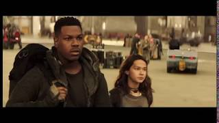 Pacific Rim Uprising Deleted Scene: Amara Arrives At Shatterdome