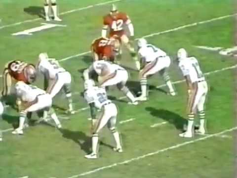1983 Wk 10 Miami Over San Fran 20-17 - 1st Half; Highlights With Radio Call