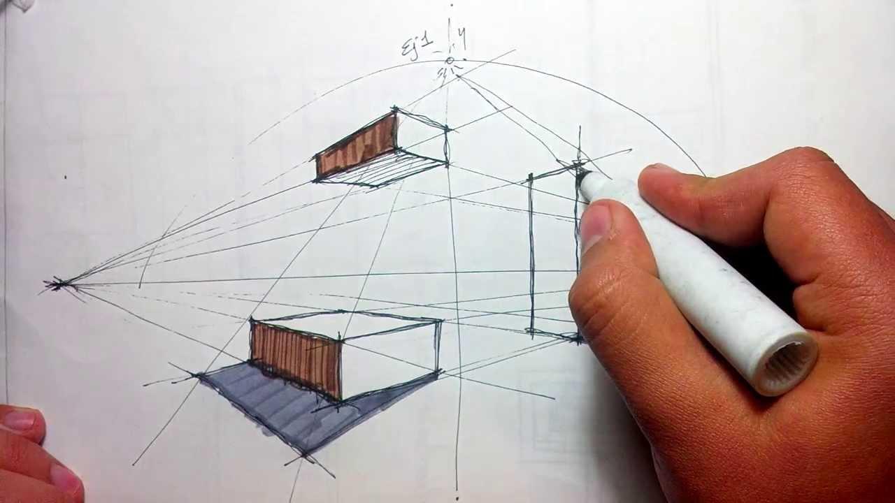 Dibujando a mano alzada ejercicio de sombras youtube for 5 tecnicas de la arquitectura
