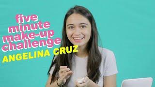 Video Angelina Cruz - 5-Minute Make Up Challenge download MP3, 3GP, MP4, WEBM, AVI, FLV Oktober 2018