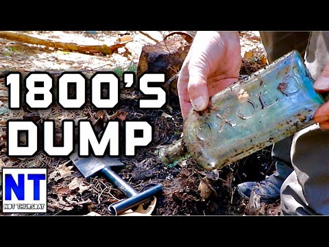 Dump Digging Cool 1800s Bottles & Relics Wow! Heinz Ketchup