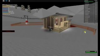 roblox ski resort snowboard glitch HOW TO GET IN CONTROLLER ROOM FREEE!!!!