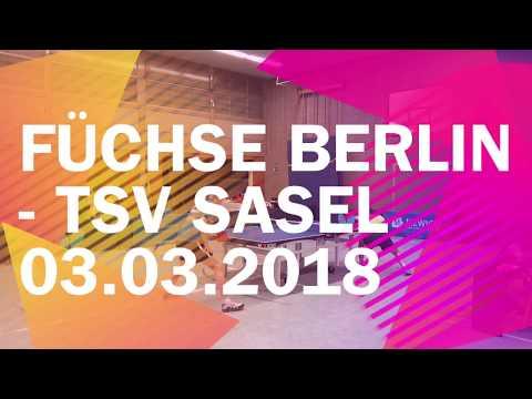 Füchse Berlin vs TSV Sasel | Sa. 03.03.2018 | Regionalliga Nord 2017/2018