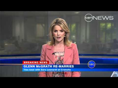 Glenn McGrath Gets Married