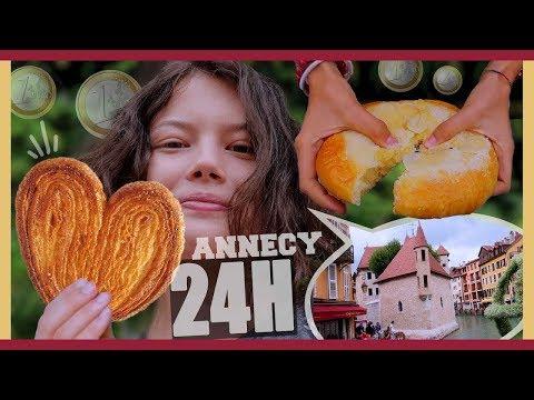 JE MANGE QUE DES TRUCS  1 PENDANT 24H  ANNECY - Claire