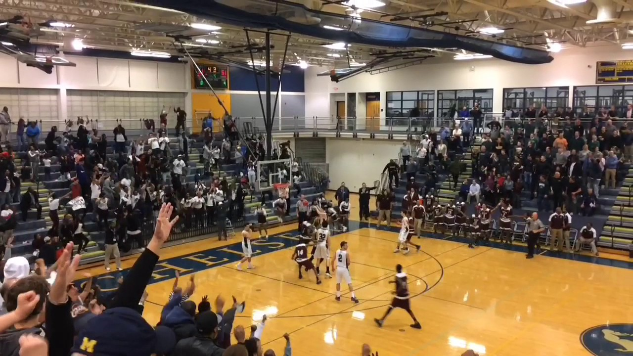 Game winning 3 pointer leads river rouge boys basketball over williamston and back to