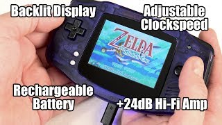 Ultimate GBA v2.0: Rechargeable Battery, Improved Screen, Better Sound & other tricks!