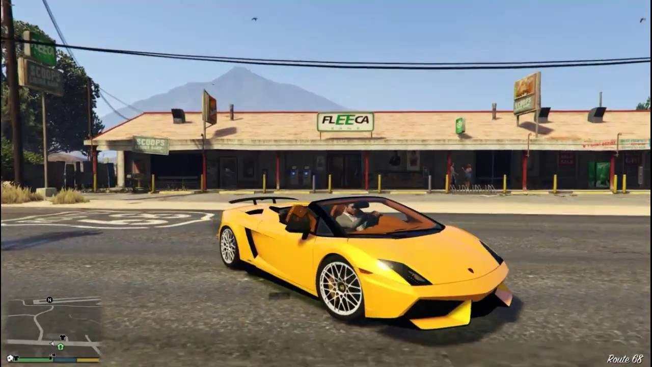 Gta V Mods Lamborghini Gallardo Lp 570 4 Spyder Youtube