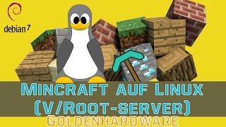 Minecraft SPIGOT/BUKKIT Server  auf Linux Root-/-vServer installieren [Deutsch] [FullHD]