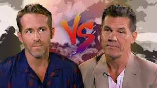 Türkçe - Ryan Reynolds ve Josh Brolin Birbirlerine Laf Sokuyor