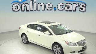 oA97928DP Used 2011 Buick Lacrosse White Sedan Test Drive, Review, For Sale