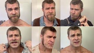 Brandon's MORNING ROUTINE - Shaving / Food / Workout