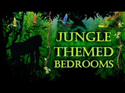 Jungle Themed Bedroom Decorating Ideas