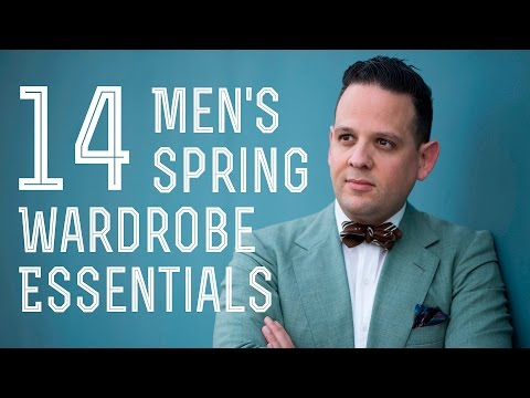 14 Men's Spring Summer Wardrobe Essentials - Linen, Belts, Chinos & Much more - Gentleman's Gazette