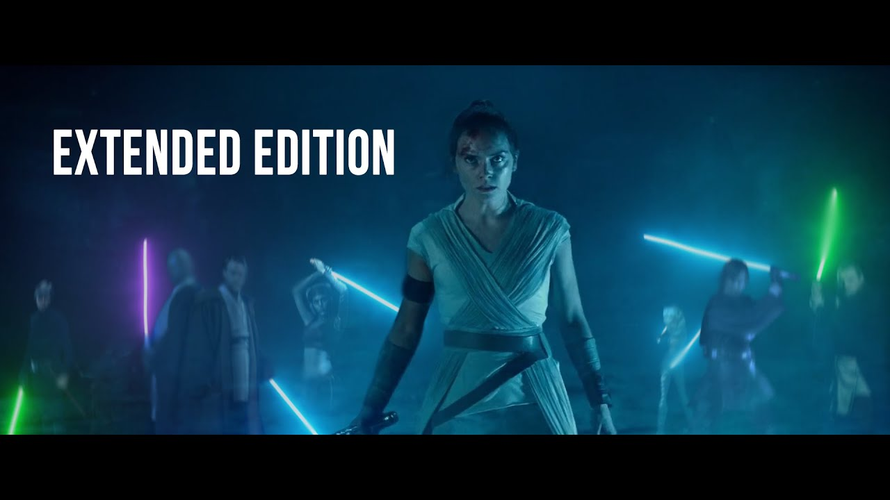 Rey Vs Palpatine Extended Edition Youtube