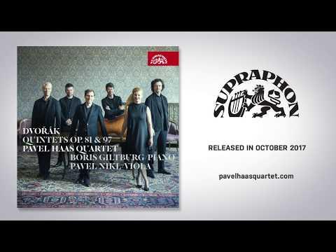 Pavel Haas Quartet - Antonín Dvořák: Quintets (teaser)