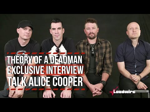 Theory of a Deadman Talk Alice Cooper