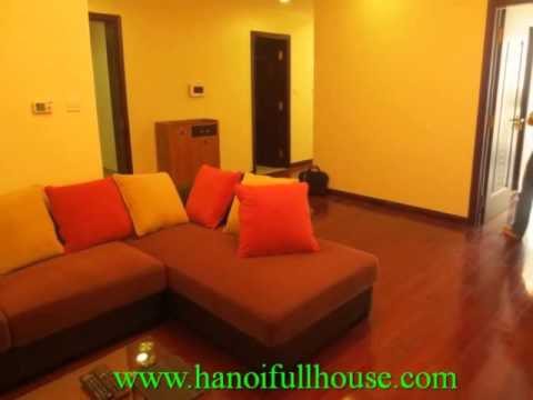 Hanoi Royal City apartment for rent. Furnished apartment with 2 bedrooms