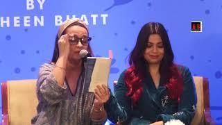 Alia Bhatt & Mahesh Bhatt at Book launch 'I've Never Been UN happier' by Shaheen Bhatt