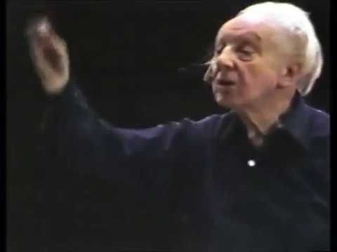 Schubert 'Unfinished' Symphony – Stokowski rehearsal