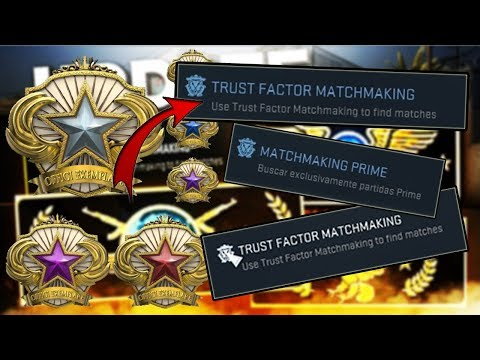 trust factor vs prime matchmaking