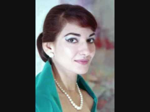 Maria Callas - Air des bijoux - Jewel song - Faust Gounod