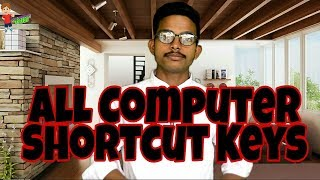 Computer shortcut key, keyboard shortcuts key,  shortcut keys of computer in hindi