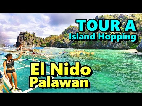 Review Tour A El Nido Palawan, Island Hopping Philippines
