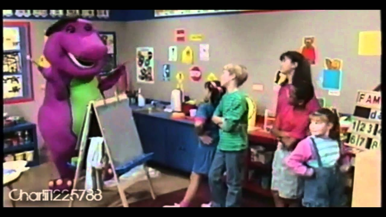 Barney and friends my familys just right for me part 1 hd Hd home me