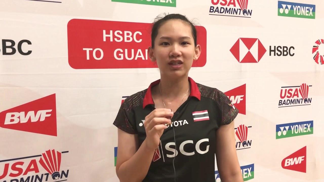 ใครเป็นนักแบดในดวงใจของหมิว!? Pornpawee's Badminton Idol?