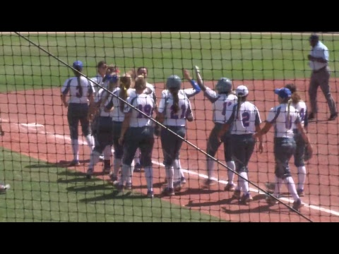 HBU Softball vs Southeastern Louisiana (Game 1) 2017-04-07