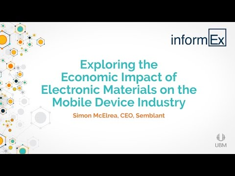 Exploring the Economic Impact of Electronic Materials on the Mobile Device Industry