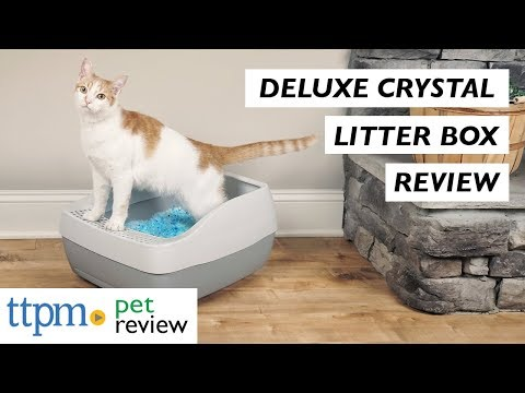 Deluxe Crystal Litter Box System from PetSafe