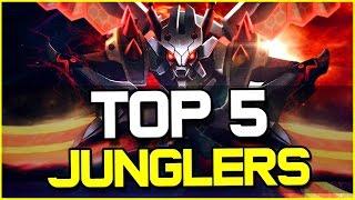 TOP 5 BEST JUNGLERS - Patch 6.11 | League of Legends