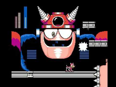 Mega Man III NES Defeating Dr. Wily