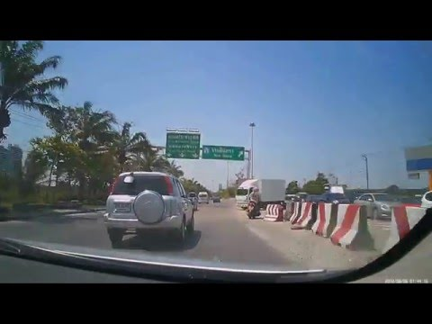 DASHCAM - Driving in Thailand / Bangkok - Pathum Thani FULL