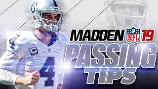 Madden NFL 19 Passing Tips 101