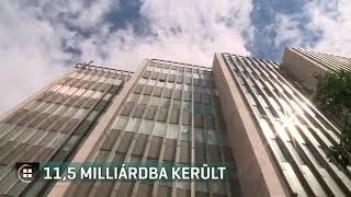 11,5 milliárdba forintba került az Országgyűlés Hivatalának új irodaháza 20-02-06