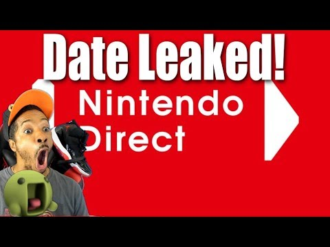 Next Nintendo Direct Date Leaked