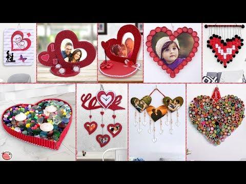 WOW Beautiful... 10 DIY Heart Showpiece Ideas !!!