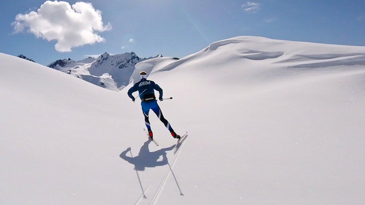 Backcountry Xc Skiing Alaska Youtube