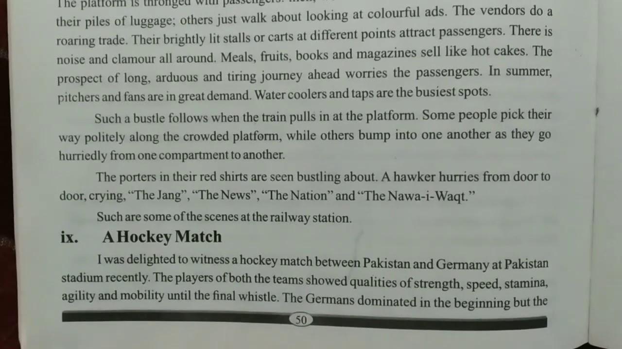Essays on hockey