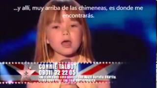 Connie Talbot - Over the rainbow - BGT Final - Subtitulos en Español