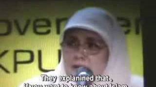 Christian Catholic Nun Converted to Islam-Terrorist Vs Truth