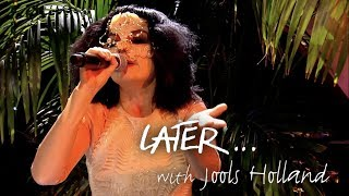 Björk performs Blissing Me live on Later… with Jools Holland