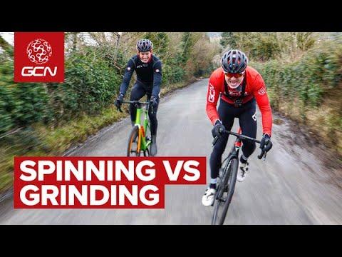 Spinning Vs Grinding: