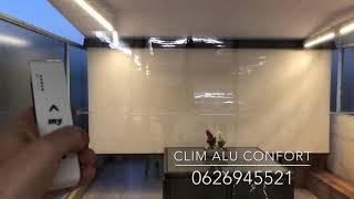 Store coffre, Led gradable, lambrequin déroulant par Clim Alu Confort